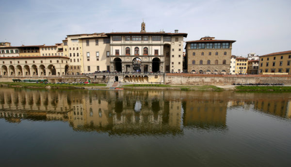 A general view of Uffizi Gallery in Florence, Italy April 1, 2017. Photo by Tony Gentile/Reuters
