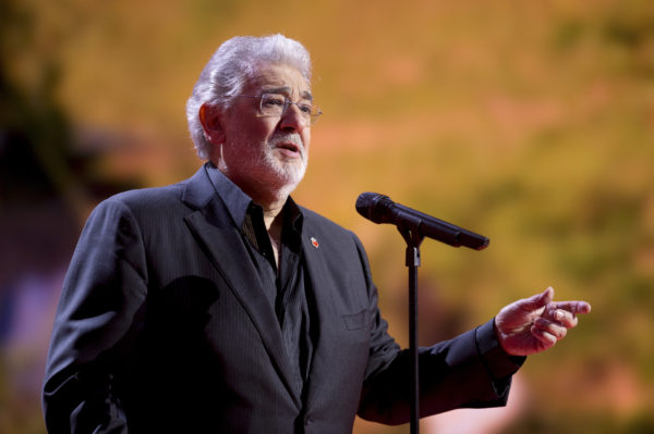"Spanish tenor Placido Domingo sings during the ""Ein Herz fuer Kinder"" (A Heart for Children) TV charity telethon in Berlin, December 15, 2012. Photo by Axel Schmidt/Reuters"