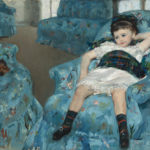 "Mary Cassatt's ""Little Girl in a Blue Armchair"" (1878).Image courtesy of Collection of Mr. and Mrs. Paul Mellon/National Gallery of Art"