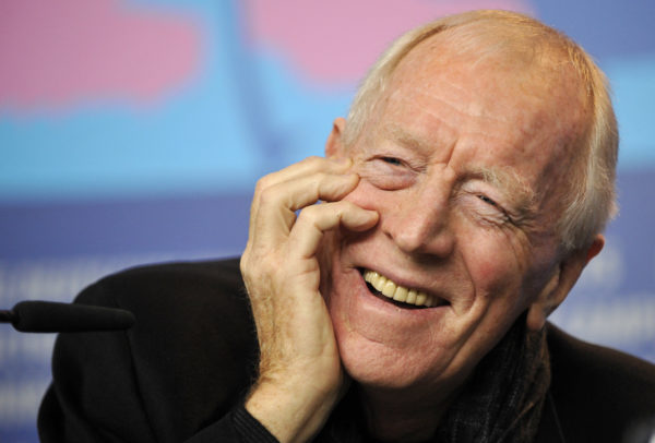 Actor Max von Sydow attends a news conference to promote the 2012 movie 'Extremely Loud And Incredibily Close' at the 62nd Berlinale International Film Festival in Berlin. Photo by Morris Mac Matzen/Reuters