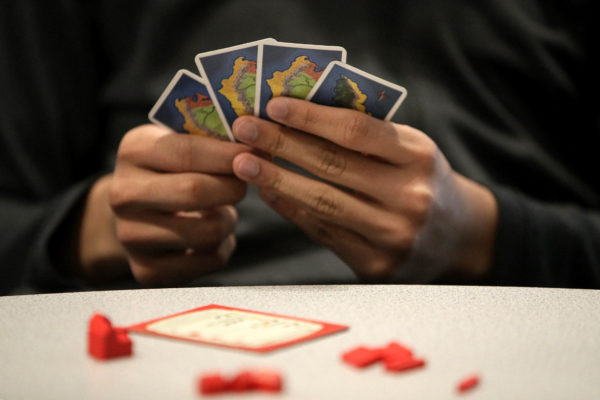 Catan is one of several tabletop games you could play while social distancing. Photo by Barry Chin/The Boston Globe via Getty Images
