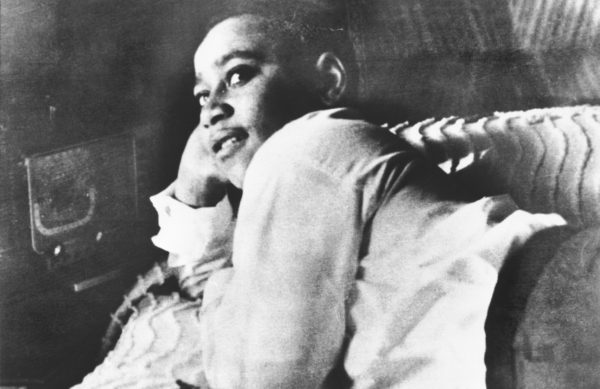 Emmett Till was murdered near Money, Mississippi in 1955 at age 14. No one was ever convicted in connection to his death. Photo by Bettman/Getty Images